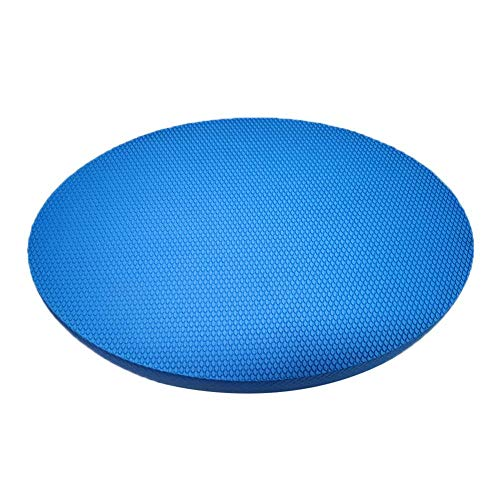 Balance Pad Oval Physiotherapy Soft Small Children's Balance Cushion, Coordination Trainer for Balance, Fitness, Yoga and Pilates Therapy, Portable Full Body Workout, Joint-friendly Blue