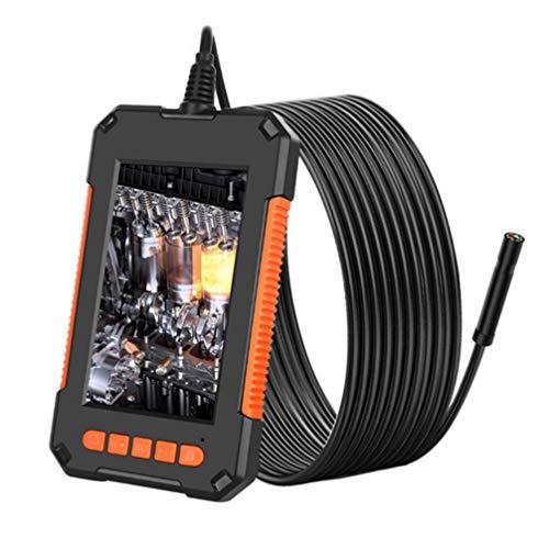 UKCOCO Cámara de Boroscopio Digital Industrial Cámara de Inspección Manual Herramientas de Reparación para La Inspección de Coches de Reparación de Tuberías (Cable Duro de 2M)