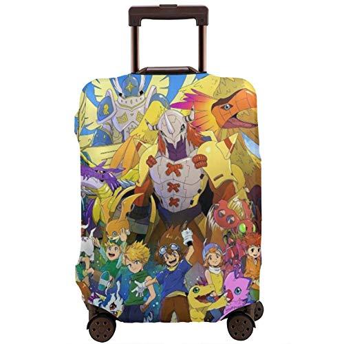 Digimon Adventure - Funda protectora para maleta de viaje (18/24/28/32 pulgadas, sin maleta), elástica, a prueba de polvo