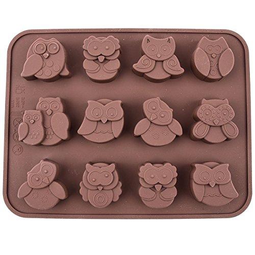 hellathund 12gufi in silicone stampo per pane, torte cioccolato Jelly Candy Craft Stampo