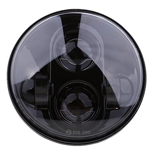 #N/a Bombilla LED Negra para Proyector de Motocicleta de 5,75'bombilla de Faro DRL para XL