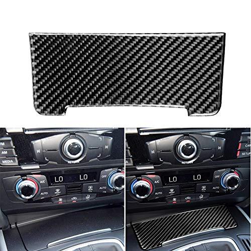 Etiqueta engomada Interior de la Cubierta del Almacenamiento de la Etiqueta engomada del Coche de la Fibra de Carbono para 2010-2018 Audi Q5 para 2009-2016 Audi A4L A5