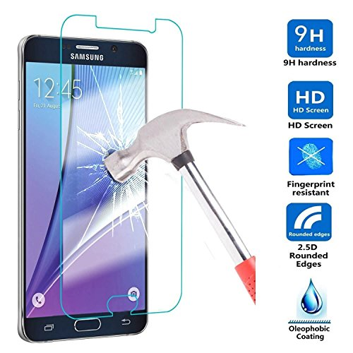 etec24® Samsung Galaxy S7 Schutzglas Hartglas Panzerglas Folie Echtglas Glas 100% Displayschutz Schutzfolie Panzerfolie Displayschutzfolie Premium 0,3mm Tempered Glass Screen Protector (für Samsung Galaxy S7)
