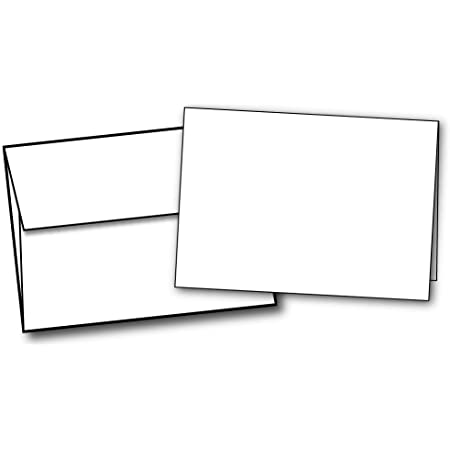 Blank Note Cards with envelopes