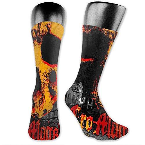 Joy Edward Cro-Mags Socken für Männer und Frauen Hip-Hop Athletic Sport Graphic Tube Socks