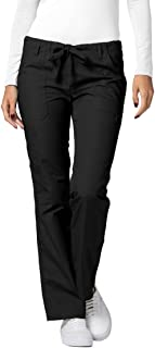 Adar Universal Scrubs for Women - Drawstring Straight Leg Scrub Pants