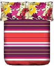 Portico Queen Size, Cotton,Print Pattern, Multi Color - Bedding Sets