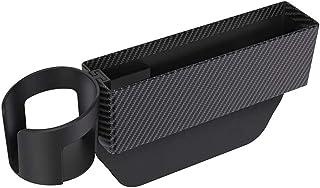 Los asientos del coche Gap Filler asiento de coche bolsillo lateral con soporte desmontable Organizador de la Copa y la zona de la ranura tarjetas de almacenamiento, consola Side Pockets la caja for e