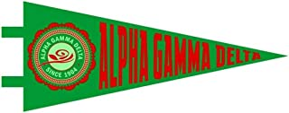 Greekgear Alpha Gamma Delta Pennant Decal