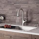 Kraus KPF-1674SFS Merlin Dual Function Pull, Faucets for Kitchen...