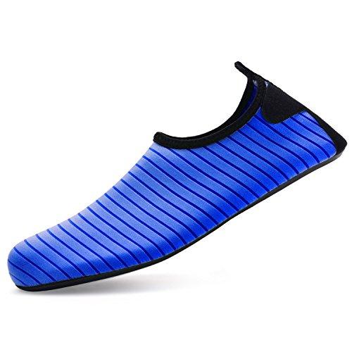 Bridawn Escarpines de Hombre Mujer Zapatos de Agua Playa Zapatillas De