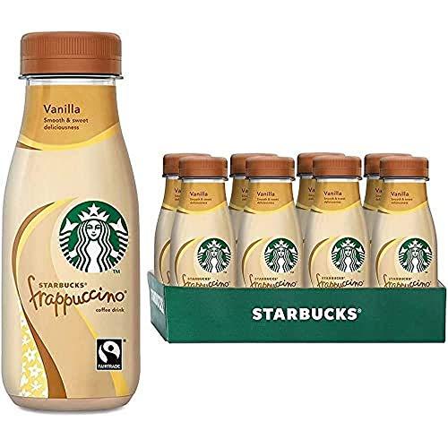 Starbucks Frappuccino Vainilla 250 ml x 8