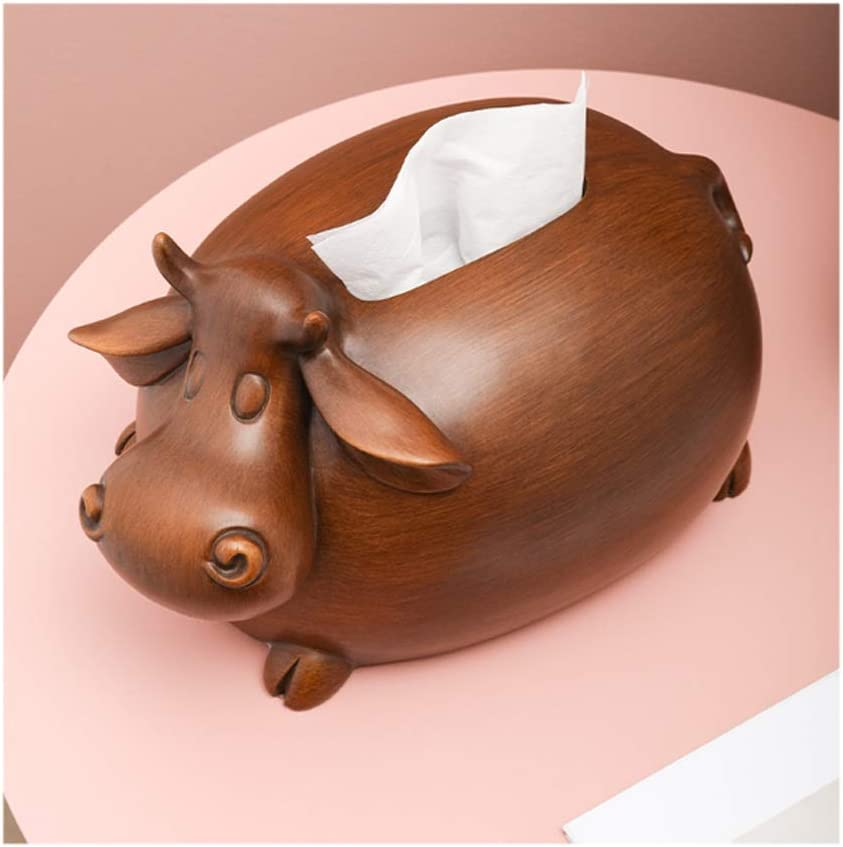 WPBOY Tissue Box Cover Hol 2021 Max 70% OFF new Creative Cow-Shaped