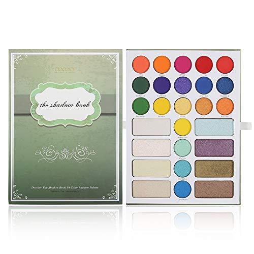 Paleta de Maquillaje inspirada en The Shadow Book de Docolor