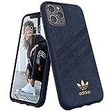 アディダスオリジナルス iPhone 11 Pro ケース ウルトラスエード プレミアム ガゼル 3ストライプ カレッジロイヤル [adidas Originals Moulded Case Ultrasuede for iPhone 11 Pro collegiate royal]