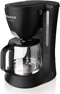 comprar comparacion Taurus Cafetera Goteo Verona 12, 680 W, 1.2 litros, plástico