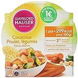 Gayelord Hauser Diététicien Plat Cuisiné Couscous aux Épices Douces 300 g - Lot...