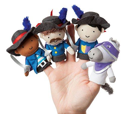 Manhattan Toy étage Temps Doigt Mousquetaire Mates marionnettes