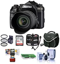 Pentax K-1 Mark II Digital SLR with HD D FA L 28-105mm F3.5/5.6 ED Lens - Bundle with 32GB SDHC Card, Camera Case, 62mm Filter Kit, Cleaning Kit, Memory Wallet, Card Reader, Mac Software Pack