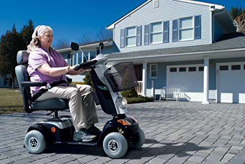 Komfort-Elektromobil Kymco® Fox (12 km/h) Blau