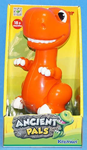 DINOSAUR DINO RUNNER ASSORTED COLOURS ORANGE OR GREEN by Keenway