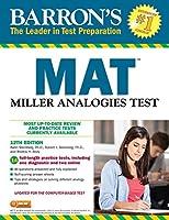 MAT: Miller Analogies Test (Barron's Test Prep)