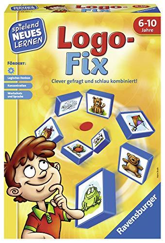Ravensburger Spielen und Lernen 24931 - Logo-Fix - das Logikspiel für Kinder von 6 bis 10 Jahren
