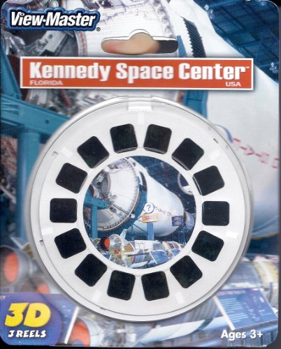 View-Master 3D 3-Reel Card Kennedy Space Center Florida by View Master