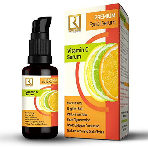 ROYAL NEEDS; YOUR HIGHNESS Vitamin C Serum for anti-aging, hyperpigmentation, reduce wrinkles, skin toning with VIT- C, Hyaluronic Acid, Green Tea Extract, Aloe vera (30ml)