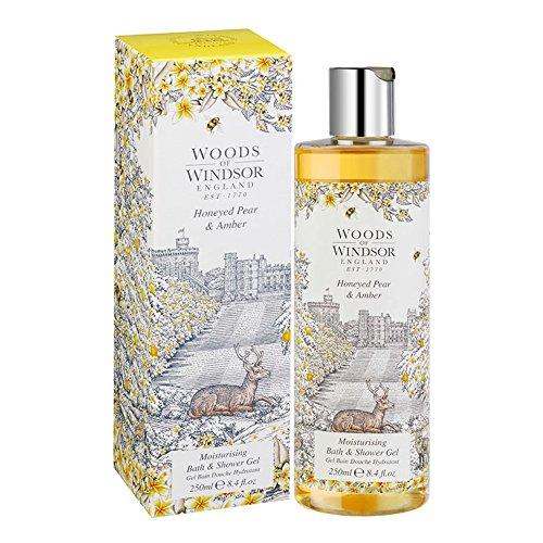 Woods of Windsor Honeyed Pear & Amber Gel Douche 250 ml