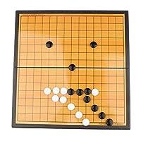 五目並べ チャスボード チェス盤 チャス玩具 折りたたみボード チャスゲーム 囲碁ゲーム