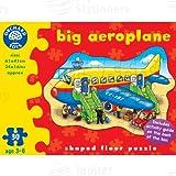 Gran avión Orchard Toys 30 piezas Puzle de suelo en forma