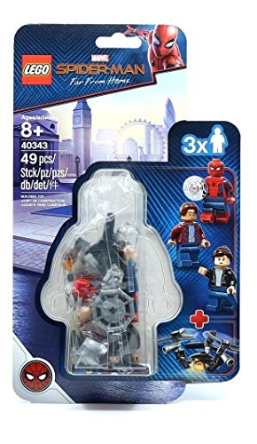 Lego Set Minifigures Marvel Spiderman - 40343