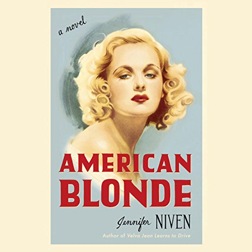 American Blonde audiobook cover art