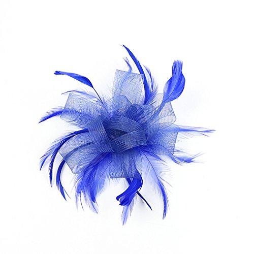 potente comercial plumas para vestidos de fiesta pequeña