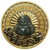 Power Coin Laughing Buddha Jade 1 Oz Moneda Oro 100$ Tuvalu 2021