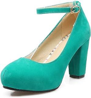 BalaMasa Womens APL12179 Pu Heeled Sandals