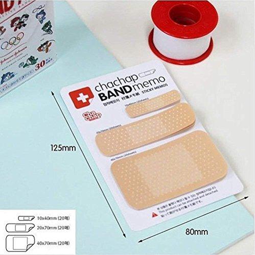 PRIMI 1Neuheit Pflaster Sticky Memo Note Bandage Komfort Aufkleber