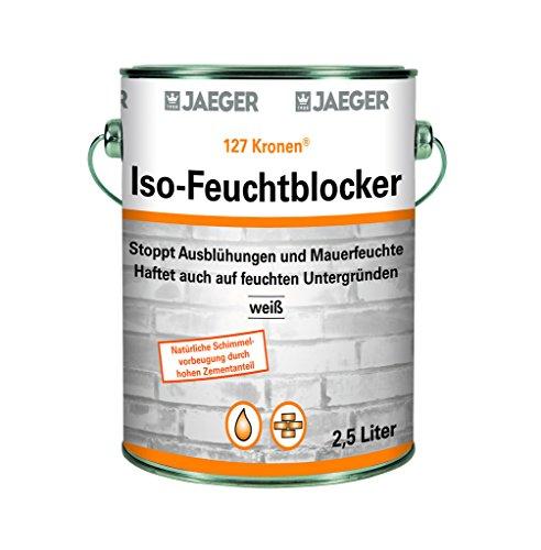 Kronen Iso Feuchtblocker von Jaeger 2,5 Liter weiss