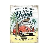 Nostalgic-Art VW Bulli-Beach Magnet, 6x8 cm
