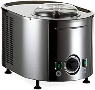 Lello 4080 Musso Lussino 1.5-Quart Ice Cream Maker, Stainless - 110/120V 60 HZ