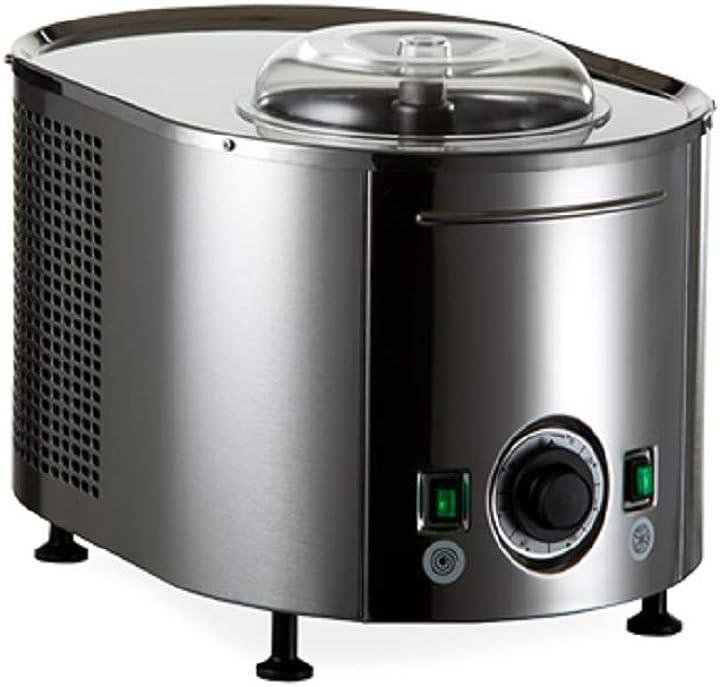 Gelatiera autorefrigerante musso mini 4080 - totalmente in acciaio inox qualita` professionale made in italy Musso-mini-4080