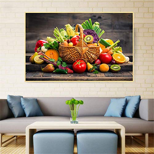 AQgyuh Puzzle 1000 Piezas Arte Pintura HD Canasta de Frutas Puzzle 1000 Piezas paisajes Rompecabezas de Juguete de descompresión Intelectual Rompecabezas de Juguete de descompresión50x75cm(20x30inch)