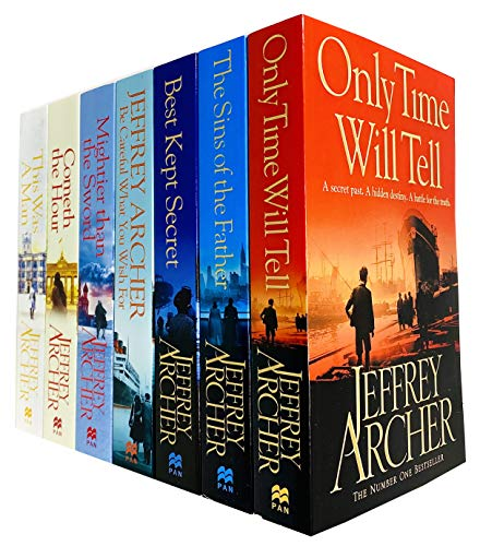 The Clifton Chronicles Series Jeffrey Archer Collection 7 Books Set