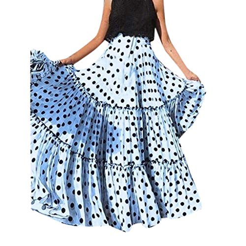 Vectry Falda Flamenca Mujer Falda Tul Mujer Larga Faldas Cortas Vaqueras Mujer Falda De Tul Tutu Falda Verano Falda Blanca