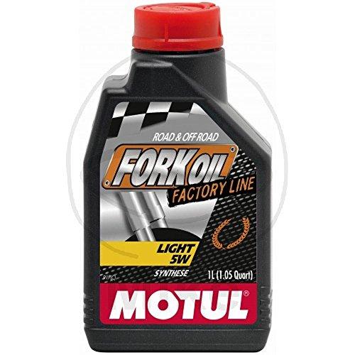 MOTUL - 105924 : Aceite de suspension FORK OIL FACTORY LINE LIGHT 5W 1 L