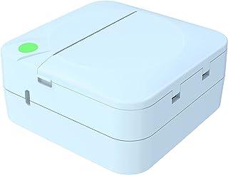 figatia 203DPI Bluetooth Impressora fotográfica de bolso Conexão BT sem fio 1000mAh para etiqueta de foto Lista de artesan...