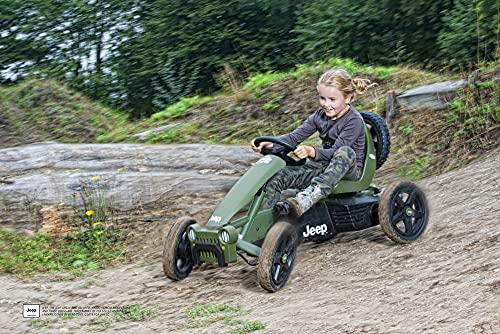 BERG Kettcar Pedal-Gokart Jeep-Design - 3