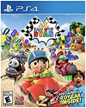 Race With Ryan Video Game for PS4 Exclusive With Toy Car
