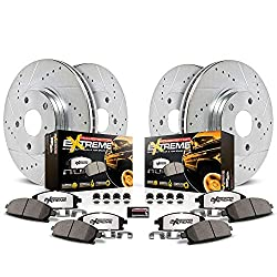 Power Stop Truck and Tow Z36 Front/Rear Brake Pad, Rotor, and Caliper Kit